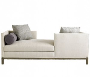 Tete A Tete: A. Rudin Chaise For Two