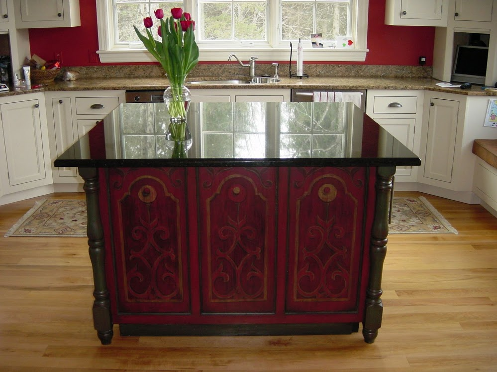Hailey- Kitchen Island