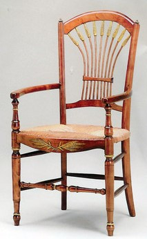 Home Life- Gestas Wheat arm chair