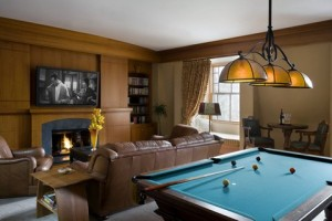 roseann basements with pool table