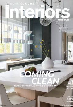 Modern Luxury Interiors Boston cover page