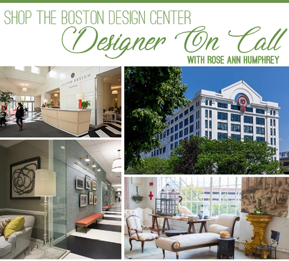 Shop the Boston Design Center with us